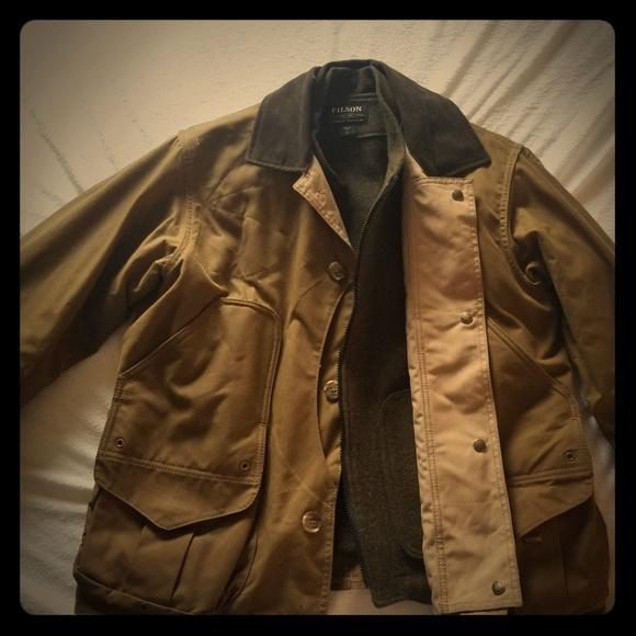 NEW FILSON Men/'s All Season Wax Shelter Cloth Rain Coat 2XL USA $425